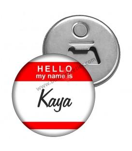 Hello My Name İs Bebek Magnet Açacaklar