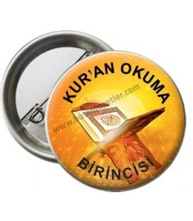 Kur'an Okuma Birincisi Rozeti