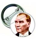Atatürk Rozetleri 58 mm