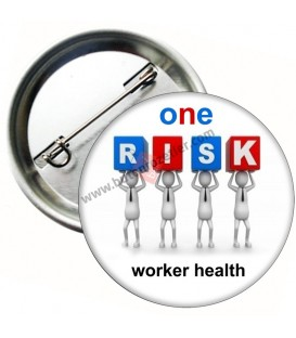 One Risk  Worker Healt   Temalı Magnet