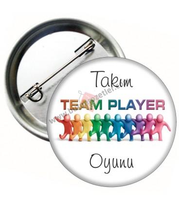 Team Player Takım Oyunu Rozeti 44 mm