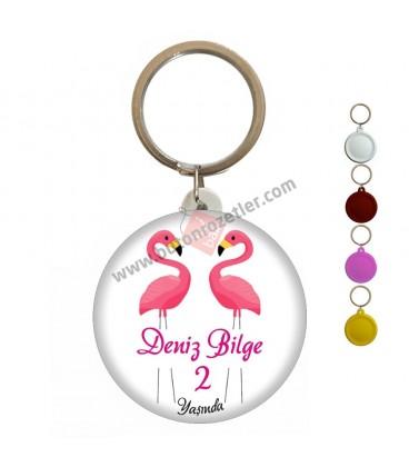 Magnet Açacak Flamingo Temalı 2 Yaş