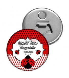 Uğur Böcek Temalı Babyshower Magnet Açacağı 2