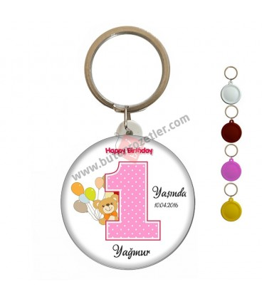 1 Yaş Kız Happy Magnet Açacak Ayıcık Figürlü