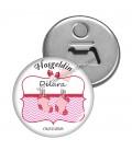 Hoş Geldin Pembe Temalı Babyshower Magnet
