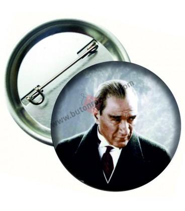 Kemal Atatürk Rozetleri 58 mm