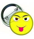 Dil Çıkaran Emoji  Rozetler 44 mm