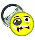 Yaralı  Emoji  Rozetler 44 mm