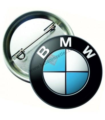 BMW Marka İğneli Aksesuar  Rozet 44 mm