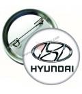 Hyundai Marka İğneli Aksesuar  Rozet 44 mm