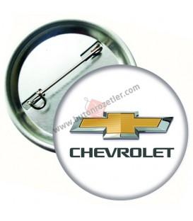 Chevrolet  Marka İğneli Aksesuar  Rozet 44 mm