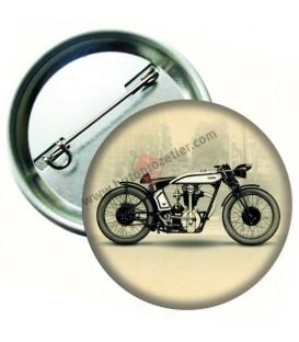 Retro Motosiklet Aksesuar Rozeti 58 mm