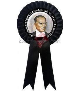 10 Kasım Atatürk'ü Anma ve Atatürk Haftası Kokartı