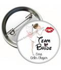 Team Bride İsme Özel Bekarlığa Veda Rozeti