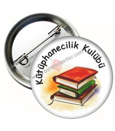 Sosyal  Kütüphanecilik Kulübü  44 mm