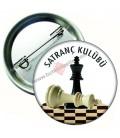 Satranç Kulübü Rozetleri 44 mm