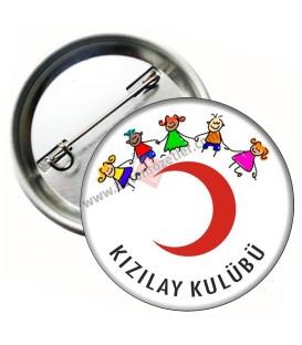 Kızılay Kulübü Okul Rozeti 44 mm