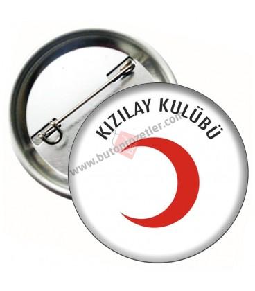Kızılay Kulübü Okul Rozeti 58 mm