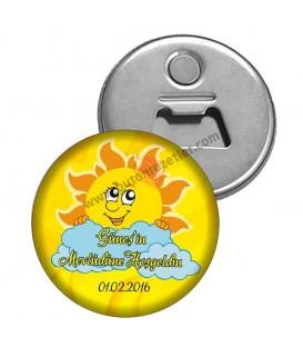 Mevlüd için Güneş Temalı Magnet Açacak
