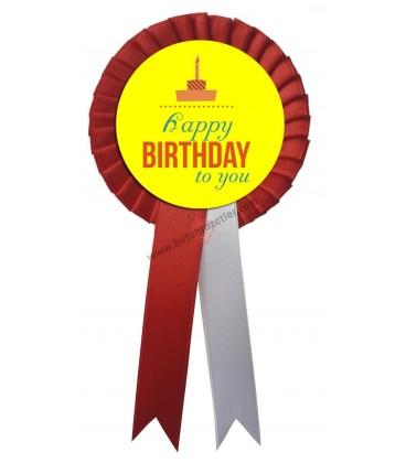 Hapy Birthday To You Parti Kokartı