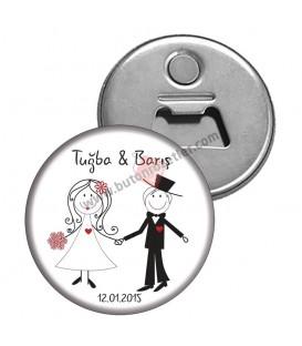 Nişan ve Nikah Magnet Açacakları
