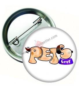 pets Love  Rozet