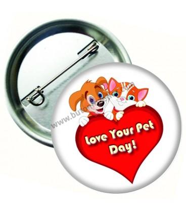 Love Your Pet Day Rozeti