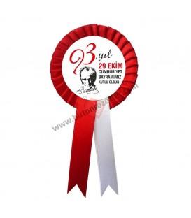 Cumhuriyet Bayramımız Kutlu Olsun Kokartı