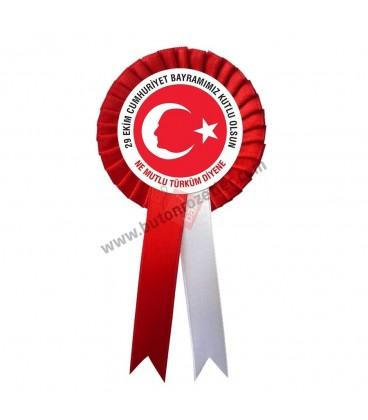 29 Ekim Cumhuriyet Bayramı Tören Kokartı