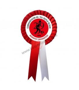 29 Ekim Cumhuriyet Bayramı Kuruma Özel Kokart