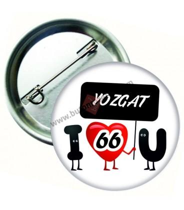 Yozgat  Plaka  Rozeti 44 mm