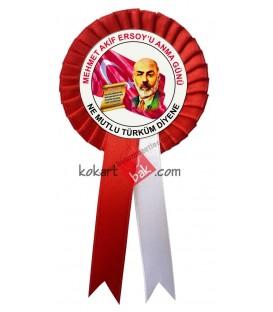 Mehmet Akifi Anma Günü Kokartları