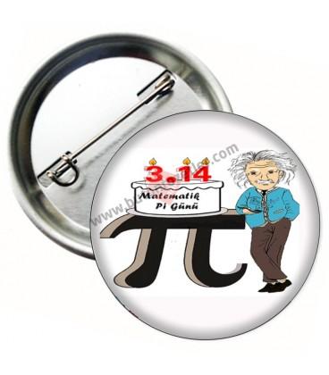 Matematik Pi Günü Rozeti