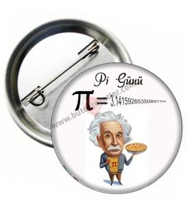 Pi Günü Albert Einstein Rozeti