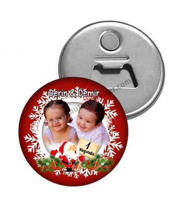1 Yaş Yeni Yıl Magnet Açacakları