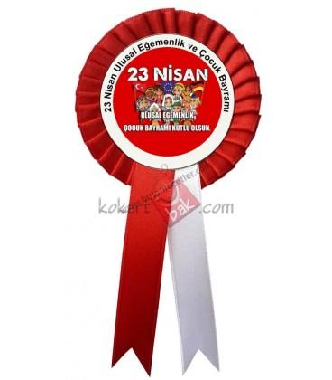 Ulusal Egemenlik ve Çocuk Bayramı Kumaş  Kokart