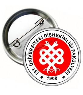 İstanbul Üniversitesi Tıp Bayramı Rozeti