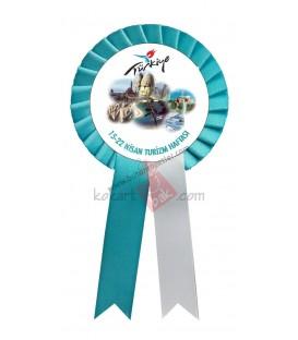 Türkiye Logolu Turizm Haftası Kokartı