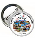 Turizm Haftası Etkinlik Program Rozeti