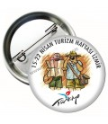 Turizm Haftası Yaka Rozeti