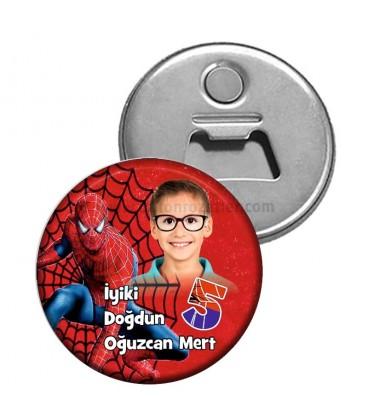 Spiderman Temalı Magnet Açacak