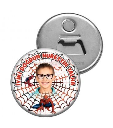 Örümcek Adam Temalı Magnet Açacak