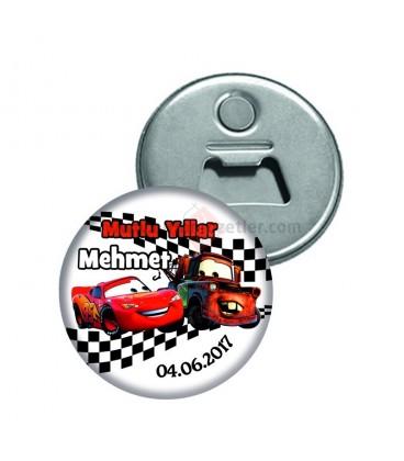Şimşek mcqueen Temalı Magnet Açacak