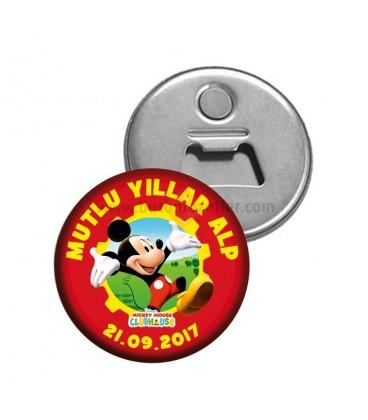 Mickey Mouse Konseptli Dogumgünü Magnetl Açacak