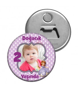 Prenses Sofia 2 Yaş Magnet Açacak
