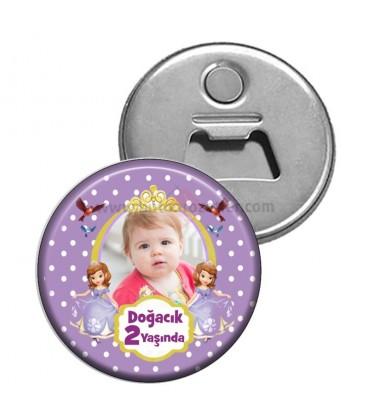 Prenses Sofia Temalı 2 Yaş Magnet Açacak