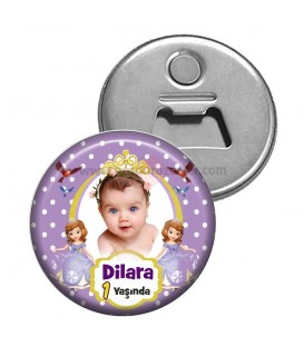 Prenses Sofia 1 Yaş Magnet Açacak