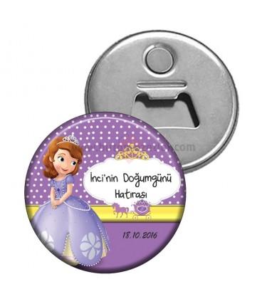Prenses Sofia Doğum Günü Hatıra Magnet Açacak