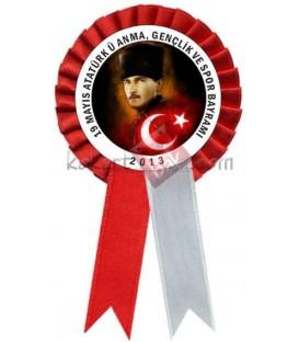 19 Mayıs Atatürk'ü Anma, Gençlik ve Spor Bayramı Kokartı
