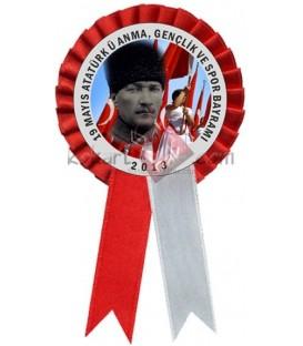 19 Mayıs Atatürk'ü Anma, Yaka Kokartı